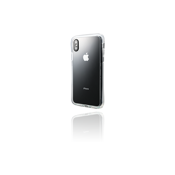 Glass Hybrid Clear Case CHC-52428CLR for iPhone XS Max