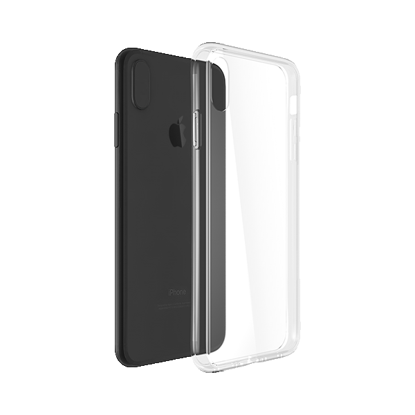 Glass Hybrid Clear Case CHC-52428CLR for iPhone XR